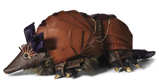 Louis Vuitton Billie Achilleos Leather Animal Sculptures (4)