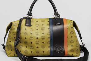 Man Bag Monday: MCM Munich Lion Weekender Bag