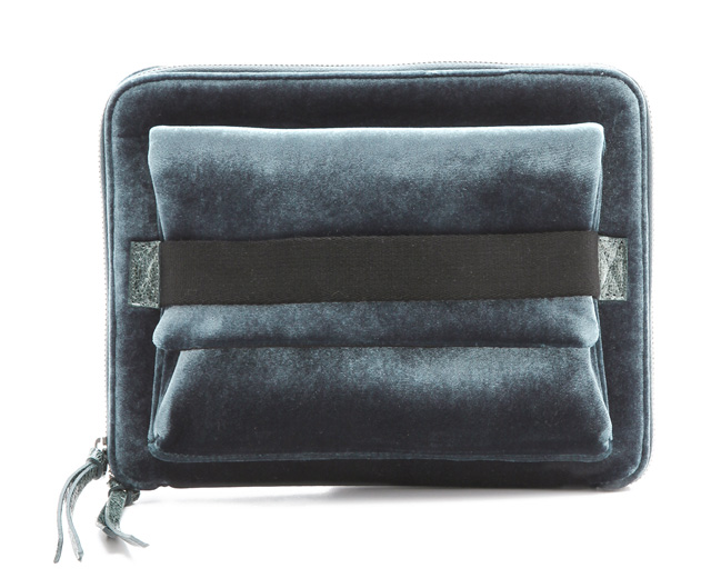 MM6 Maison Martin Margiela Velvet iPad Clutch