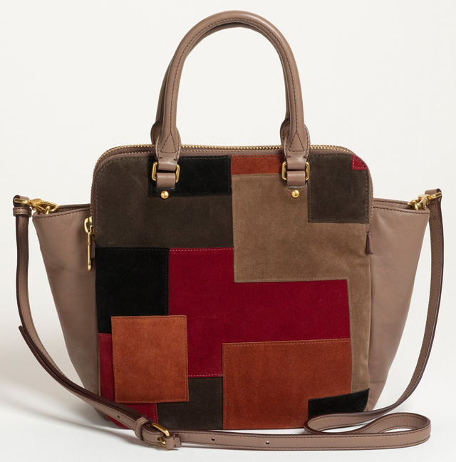 Marc by Marc Jacobs Goodbye Columbus Patchwork Satchel