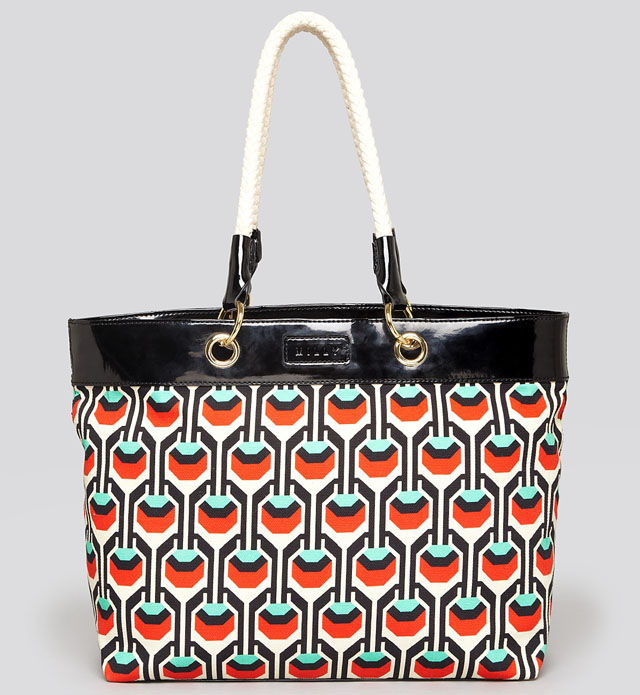 Milly Tribal Canvas Tote