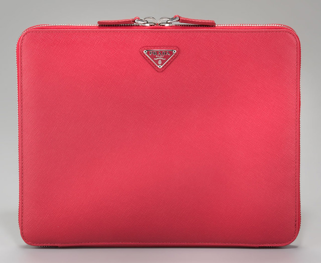Prada Saffiano Travel Computer Case