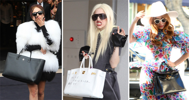 The Many Bags of Lady Gaga