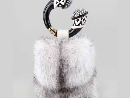 Fill in the blank: The Tom Ford Mink Fur Bracelet Bag is…