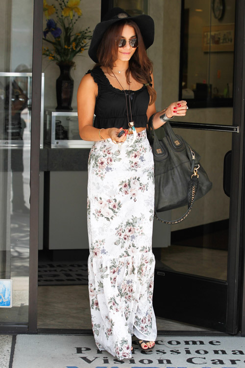 Vanessa Hudgens carries a Givenchy Nightingale Bag in LA (2)