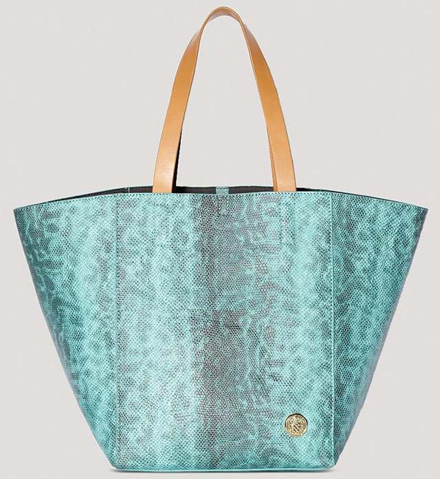Vince Camuto Coco Snake Tote
