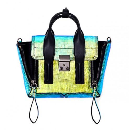 3.1 Phillip Lim Holographic Mini Pashli Bag
