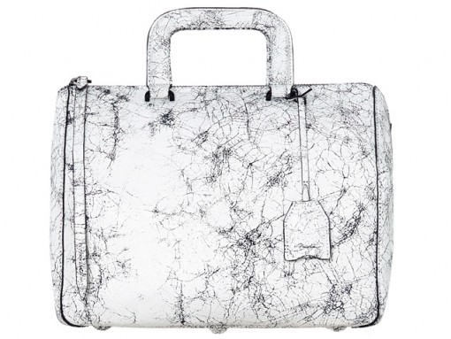 3.1 Phillip Lim Wednesday Cracked Leather Boston Satchel