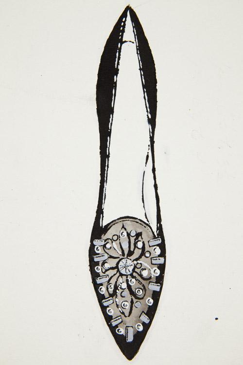 Andy Warhol Shoe