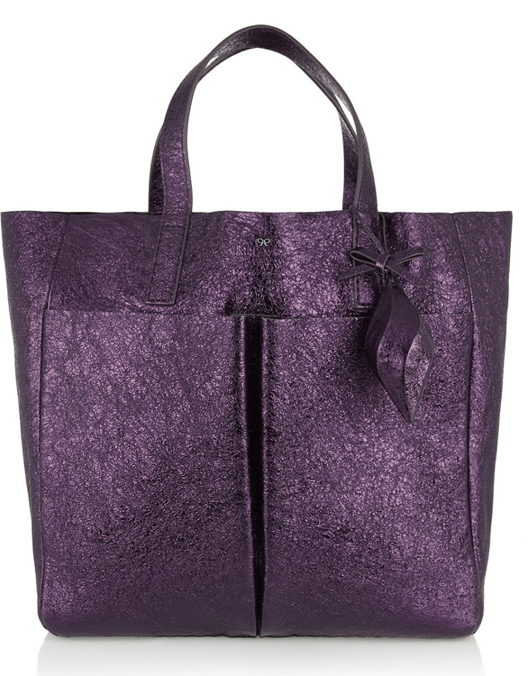 Anya Hindmarch Balthasar Metallic Tote