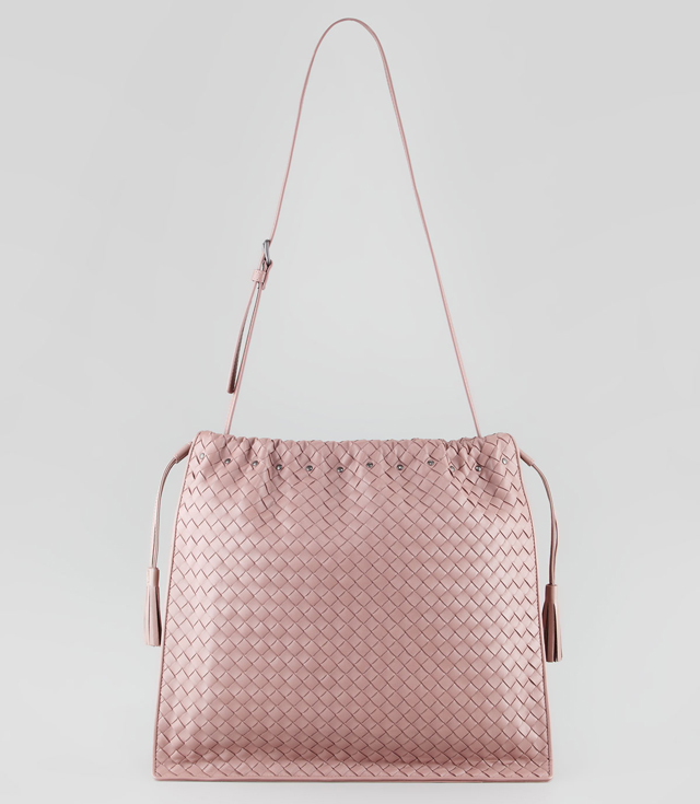 Bottega Veneta Large Drawstring Shoulder Bag