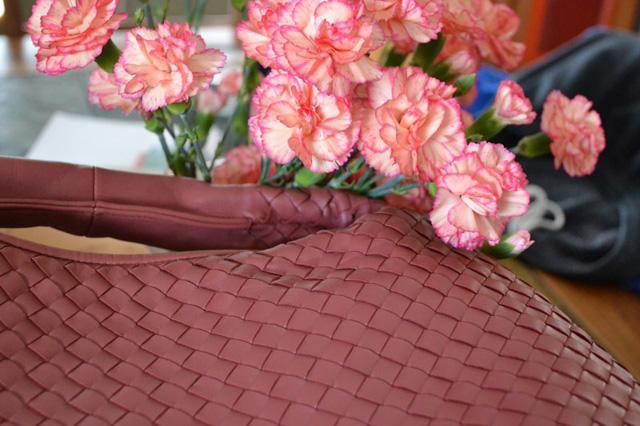 Bottega Veneta Pink Veneta Bag
