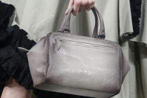 Bottega Veneta's Bags Take a Dark Turn for Spring 2014