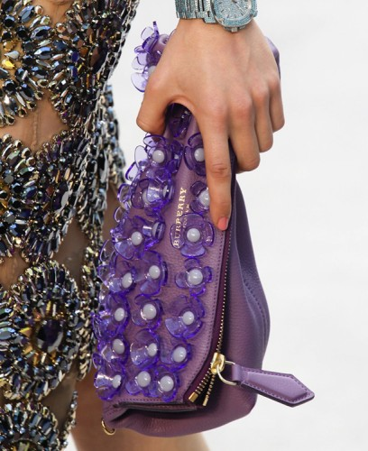 Burberry Flower Clutch Spring 2014