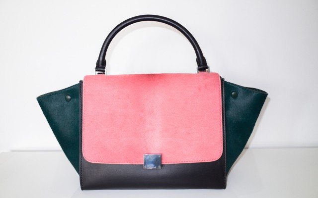 Celine Trapeze Tri Color