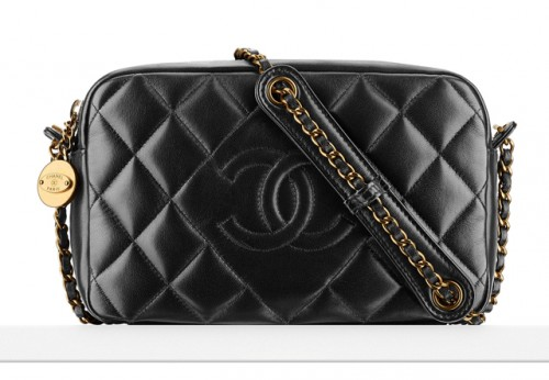Chanel Diamond Small Camera Case