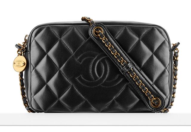 Chanel Diamond Small Camera Case