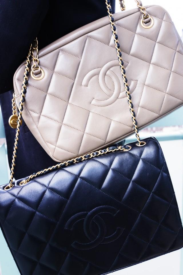 Chanel Diamond Bags