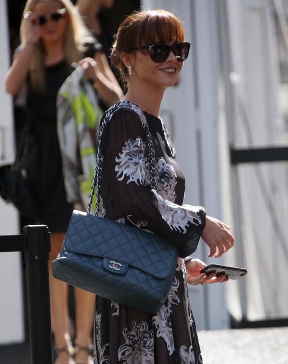 Uma Thurman, Ne-Yo, Dita Von Teese and Paris Hilton make fashion week appearances in NYC