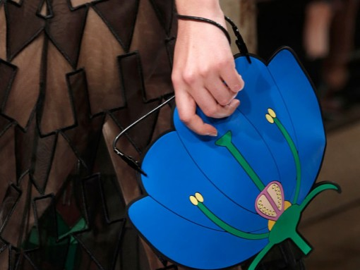 Christopher Kane Flower Clutch Spring 2014