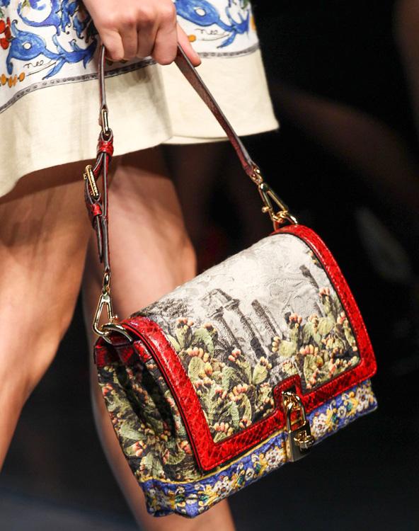 Dolce & Gabbana Spring 2014 Handbags (23)