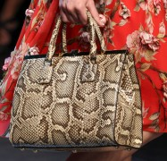 Dolce & Gabbana's Spring 2014 Bags are Exactly What You'd Expect, but in a Good Way