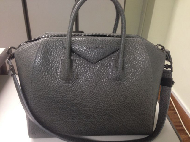 Givenchy Antigona Bag Grey