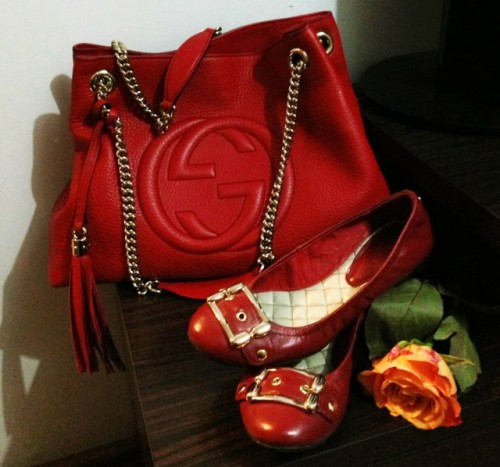 Gucci Bag and Shoes