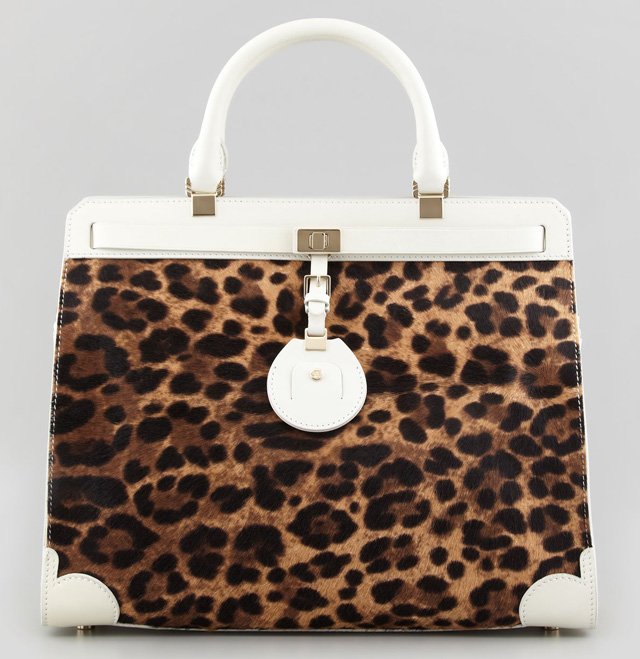 Jason Wu Leopard Jourdan Tote