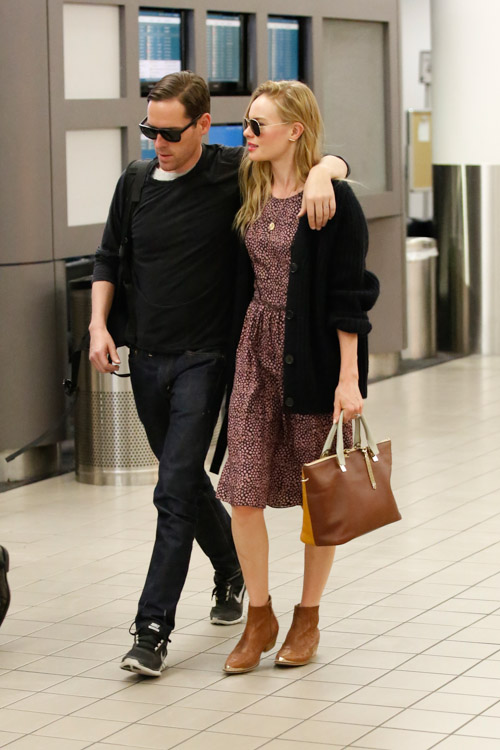 Kate Bosworth Carries A Chloe Baylee Bag At Lax 3
