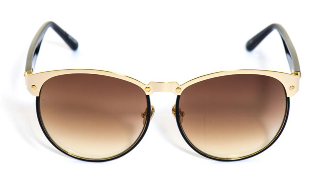 Linda Farrow Aviator Windsor Sunglasses