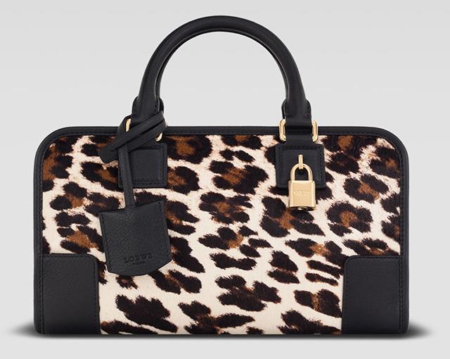 Loewe Amazon Leopard Bag