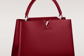 Louis Vuitton Capucines Bag Red