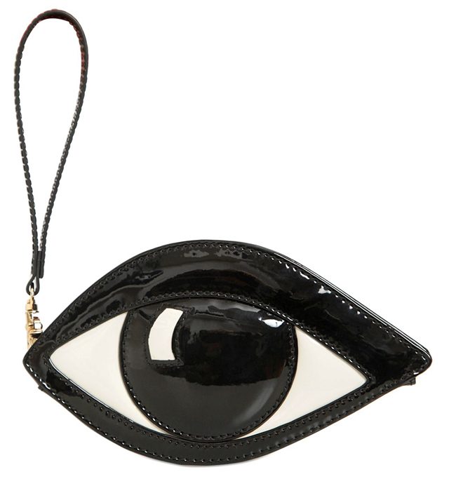 Lulu Guinness Patent Eye Coin Purse