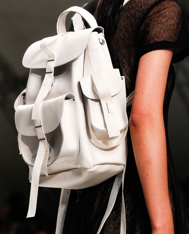 Marios Schwab Backpack Spring 2014