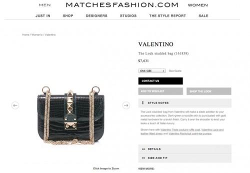 Matches Fashion US Site