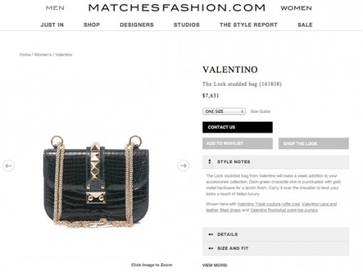 Matches Fashion US Site