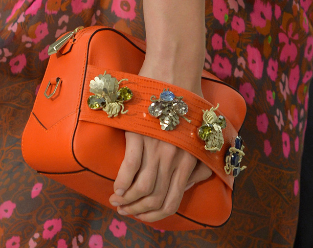 Matthew Williamson Embellished Clutch Spring 2014