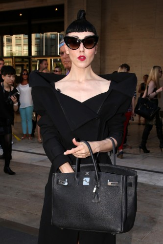 The Many Bags of Celebrities at New York Fashion Week Spring 2014 (7)