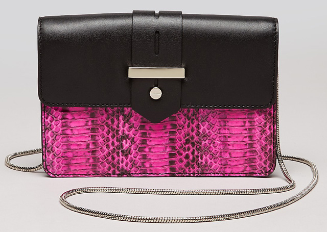 Milly Makenna Watersnake Mini Crossbody