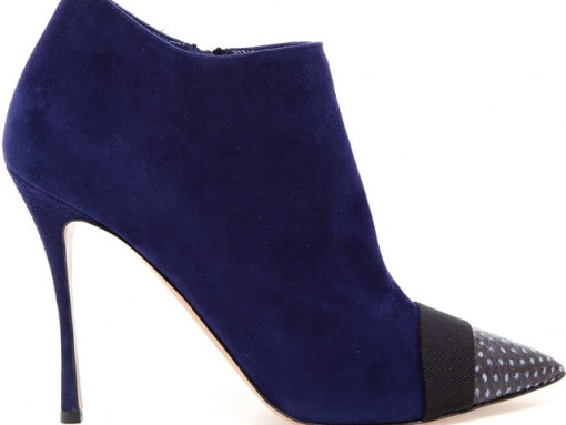 Nicholas Kirkwood Watersnake and Suede Ankle Boots