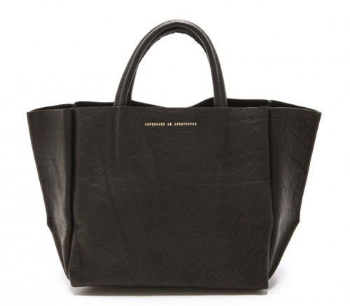 ONE by Ampersand as Apostrophe Half Tote Black