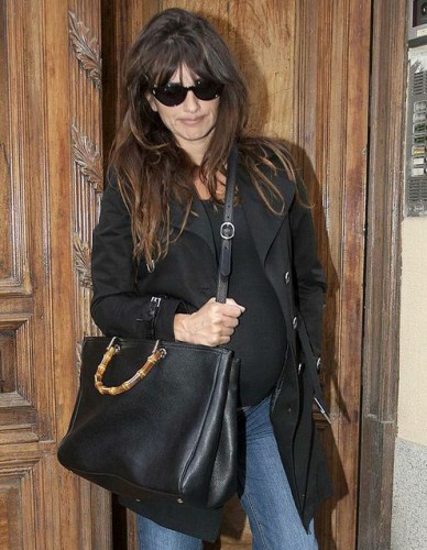 Penelope Cruz with a Gucci Bamboo Bag