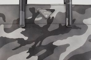 Latest Obsession: The Prada Camo-Print Soft Saffiano Tote