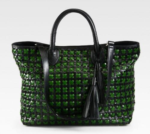 Rebecca Minkoff Woven Leather Perfection Tote