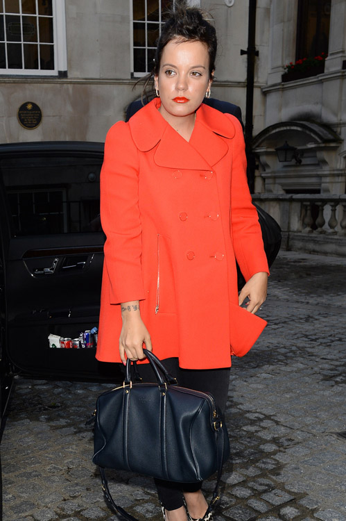 The Many Bags of Celebs at London Fashion Week Spring 2014 (8)