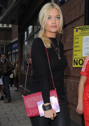 The Many Bags of Celebs at London Fashion Week Spring 2014 (2)