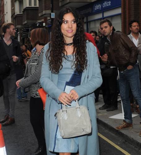 The Many Bags of Celebs at London Fashion Week Spring 2014 (1)