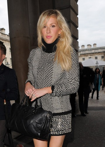 The Many Bags of Celebs at London Fashion Week Spring 2014 (5)