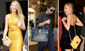 The Many Bags of Celebs at Milan Fashion Week Spring 2014